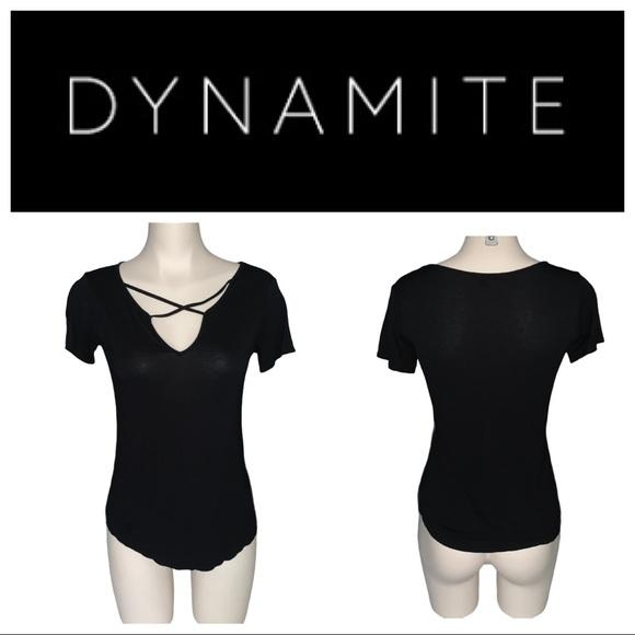 Lululemon Like New Dynamite Black T Shirt